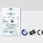 Bramy uchylne - certyfikat