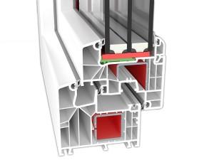 Okna PCV Ideal 8000