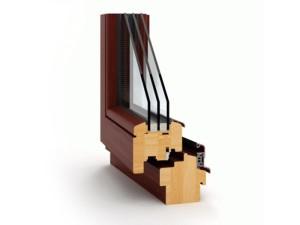 Okna drewniane Thermoline 78