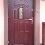 drzwi-stalowe-zewnętrzne-kolor-mahoń-minsk-mazowiecki